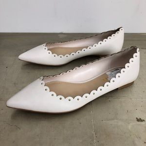 Coach Jill Soft Shine Calf Leather Flat